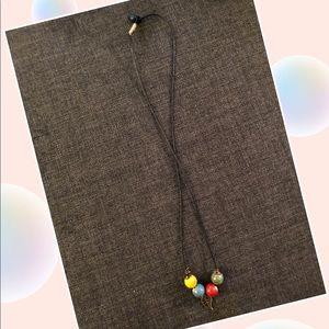 Color stone necklace
